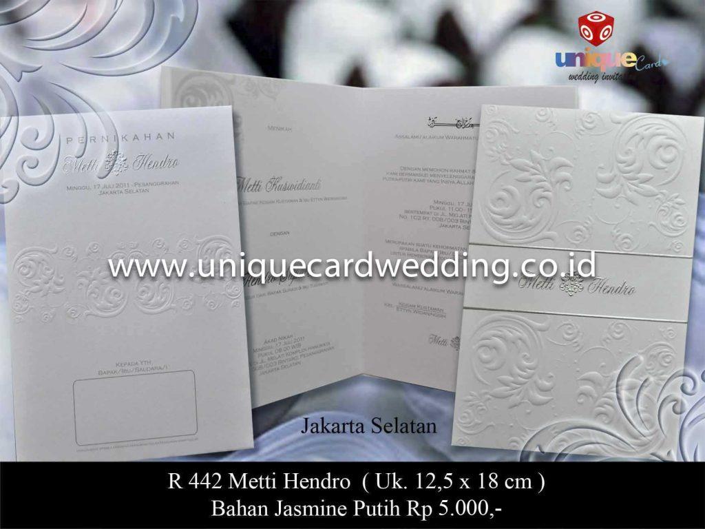 undangan pernikahan#Metti Hendro