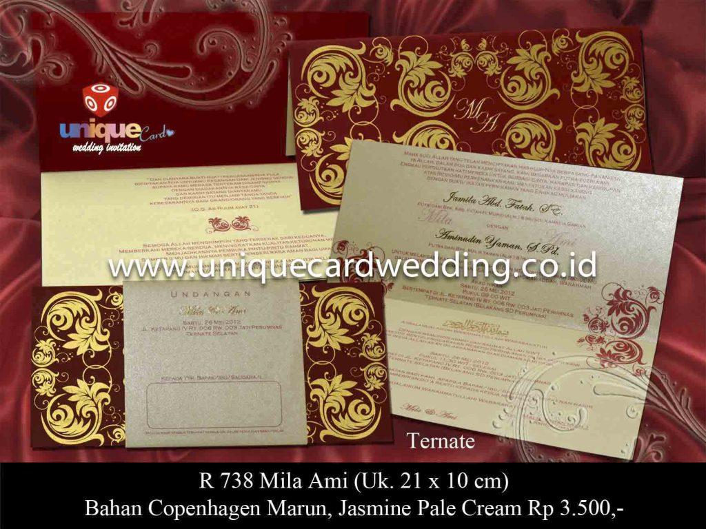 undangan pernikahan#Mila Ami