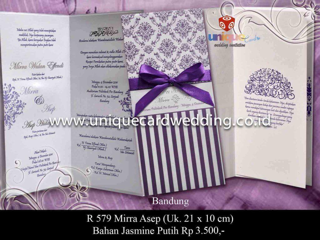 undangan pernikahan#Mirra Asep