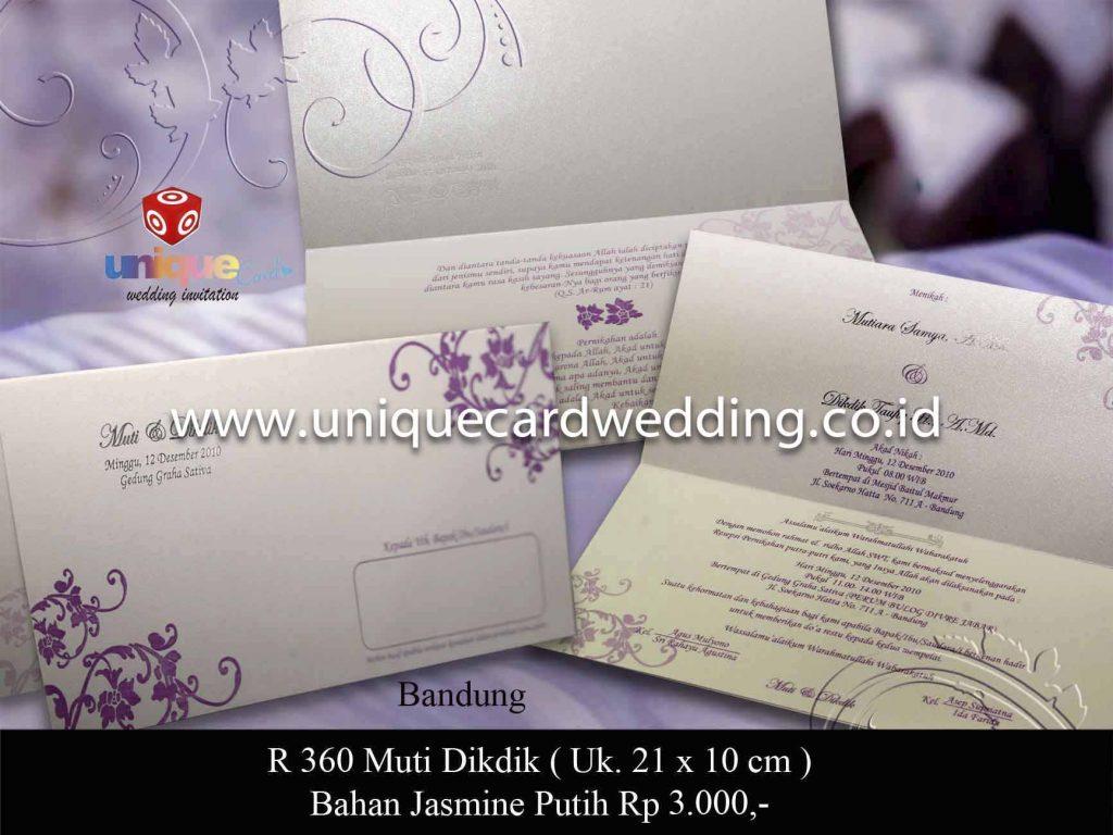 undangan pernikahan#Muti Dikdik