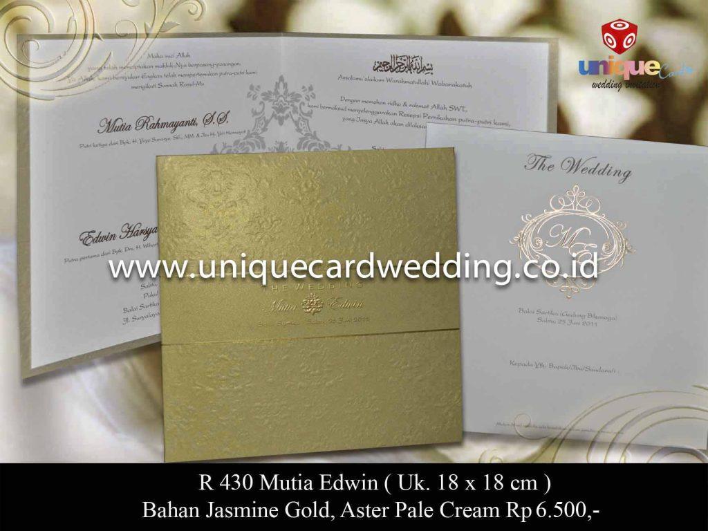 undangan pernikahan#Mutia Edwin