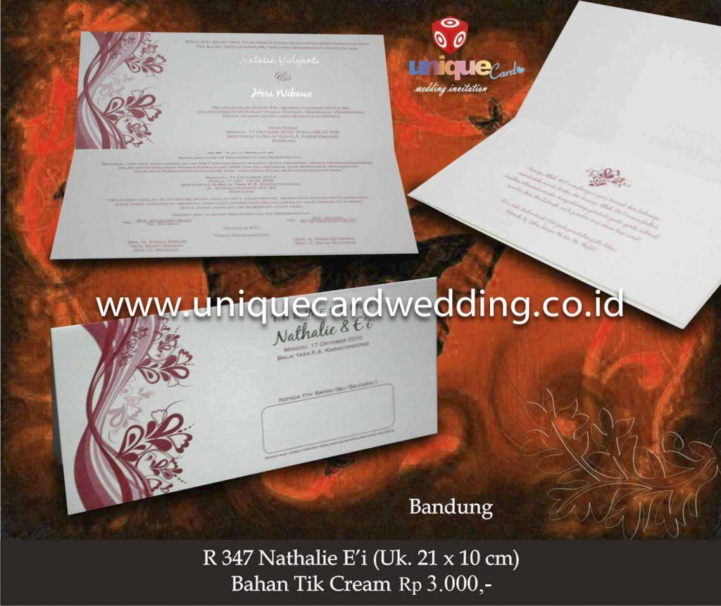 undangan pernikahan#Nathalie Ei