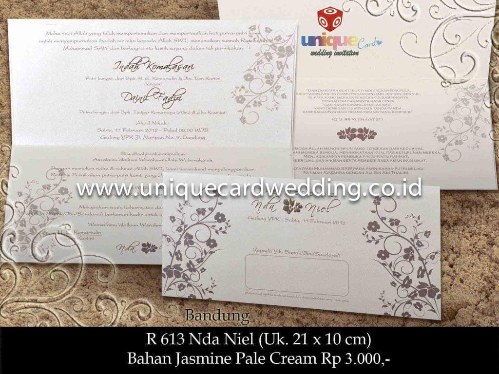 undangan pernikahan#Nda Niel