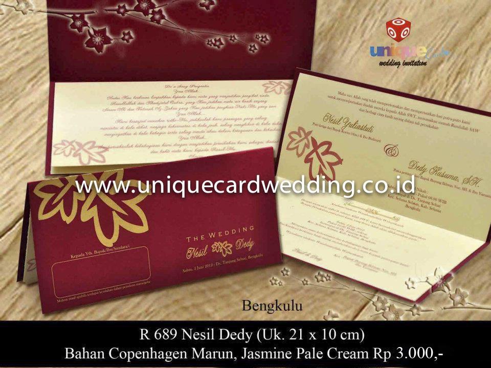undangan pernikahan#Nesil Dedy