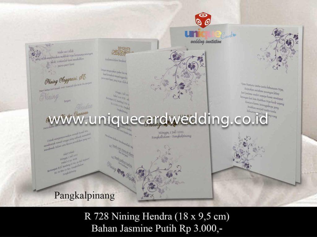 undangan pernikahan#Nining Hendra
