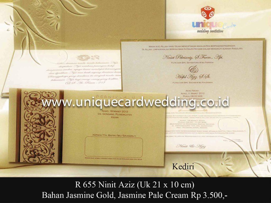 undangan pernikahan#Ninit Aziz