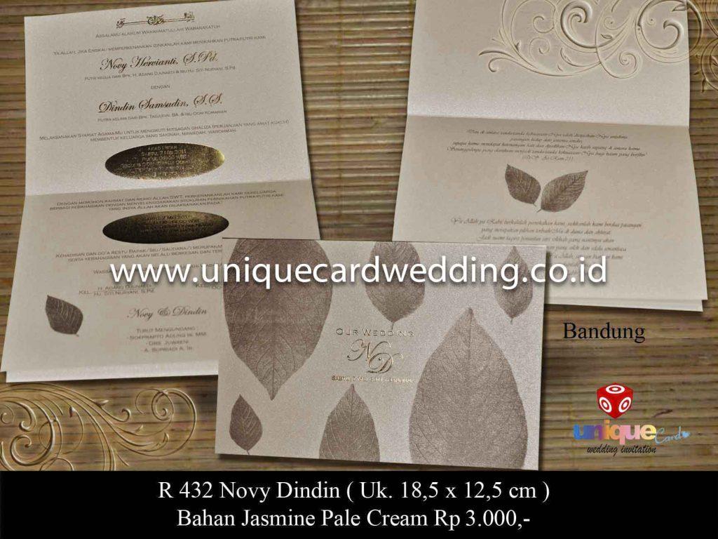 undangan pernikahan#Novy Dindin
