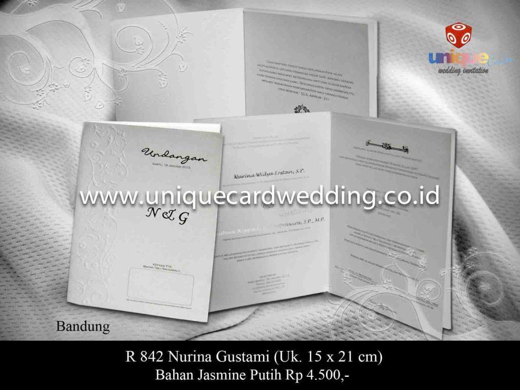 undangan pernikahan#Nurina Gustami