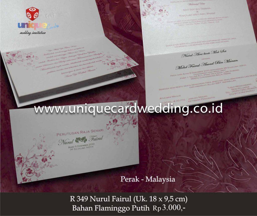 undangan pernikahan#Nurul Fairul