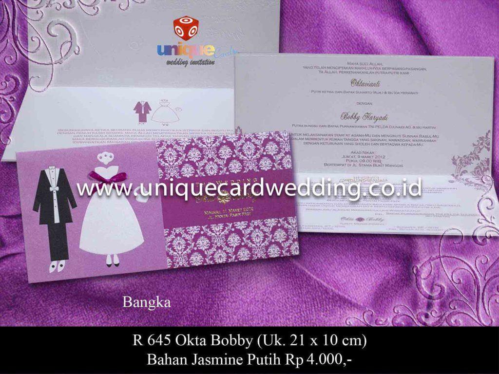 undangan pernikahan#Okta Bobby