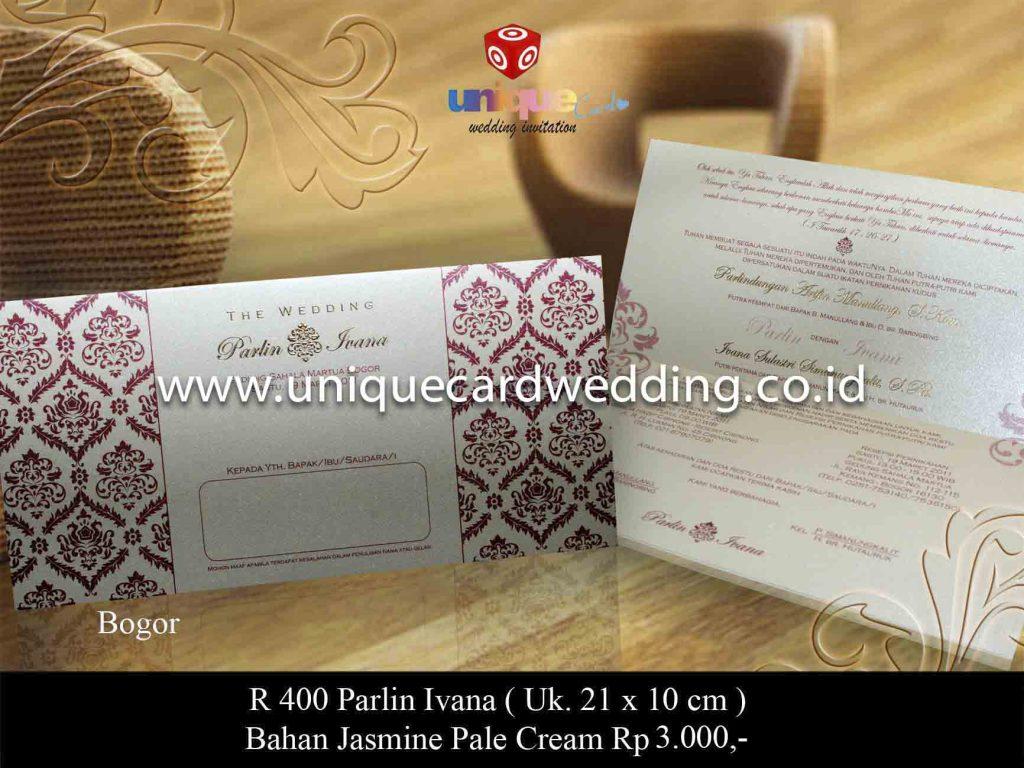 undangan pernikahan#Parlin Ivana