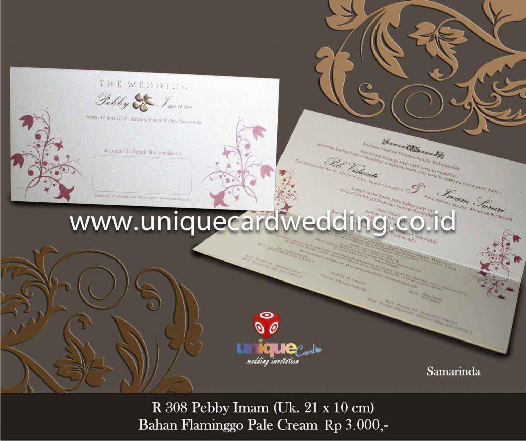undangan pernikahan#Pebby Imam