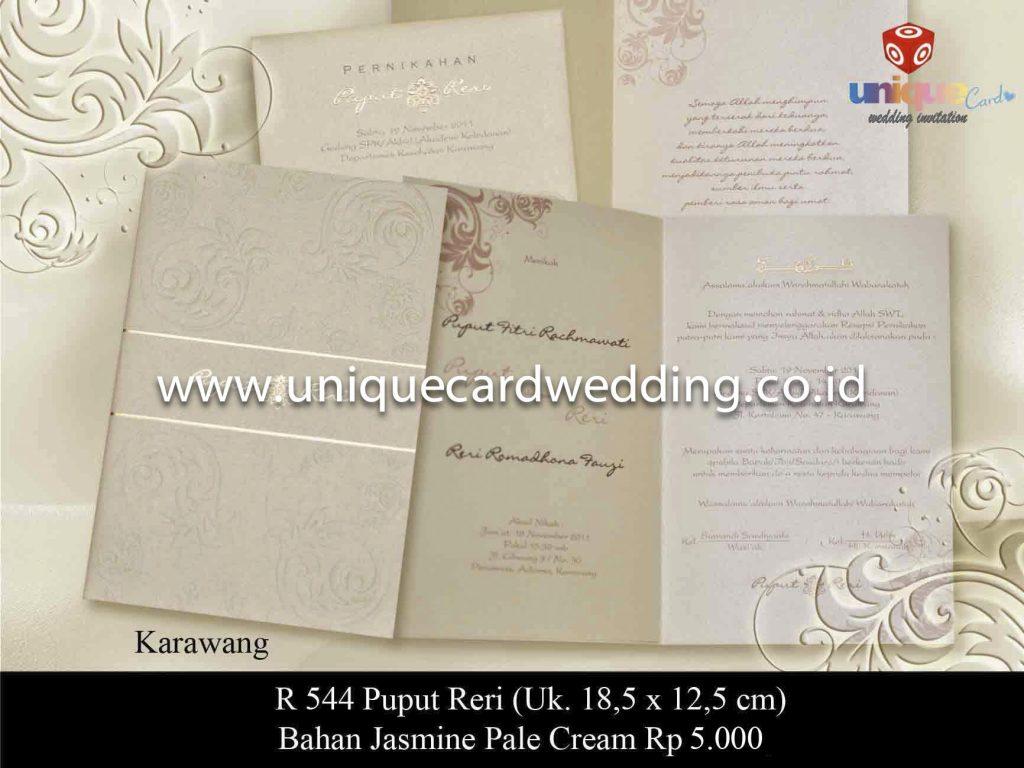 undangan pernikahan#Puput Reri