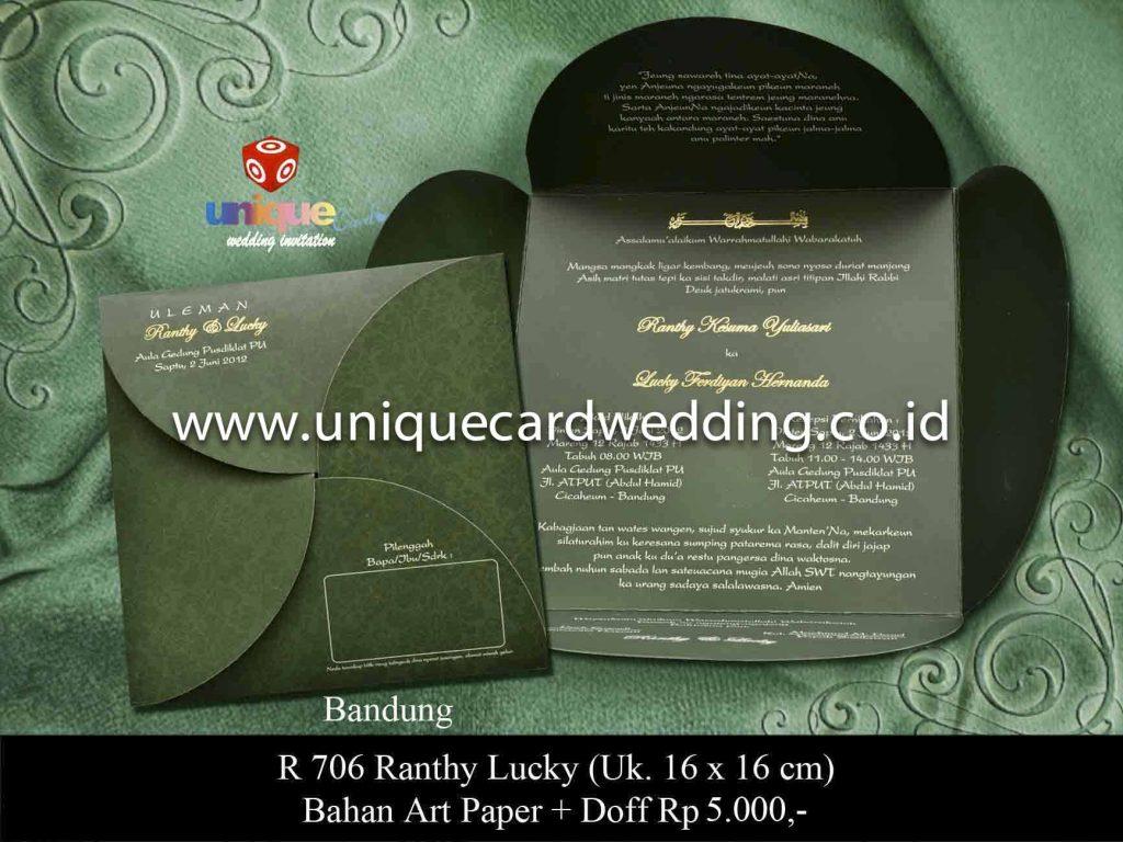 undangan pernikahan#Ranthy Lucky