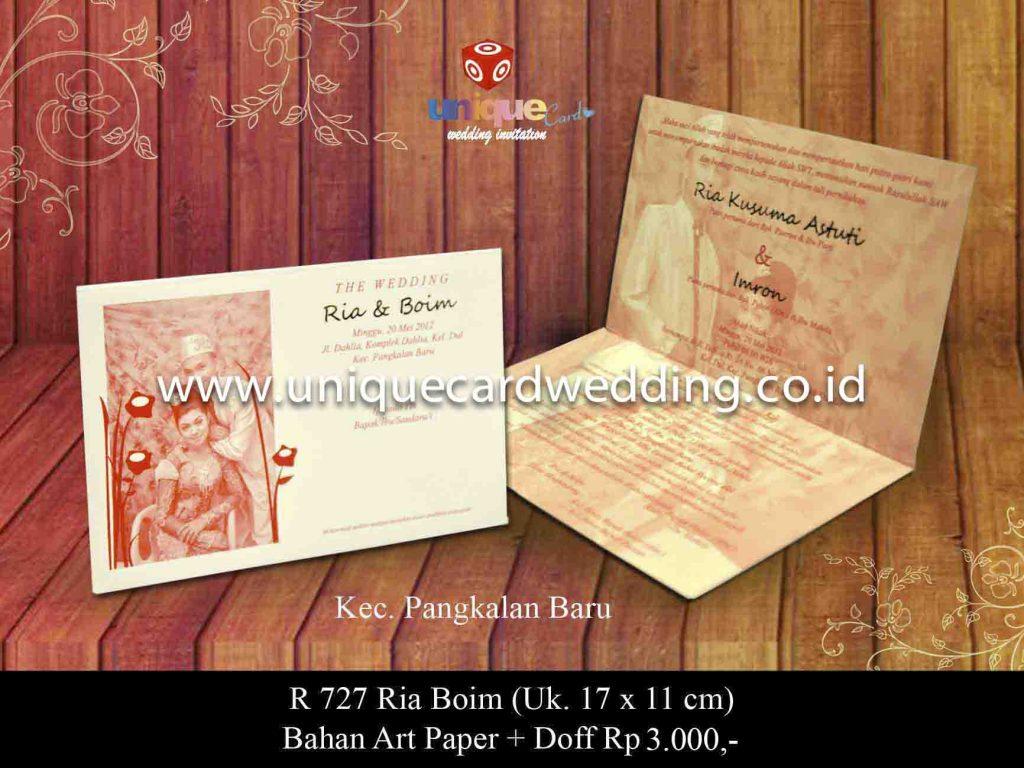 undangan pernikahan#Ria Boim