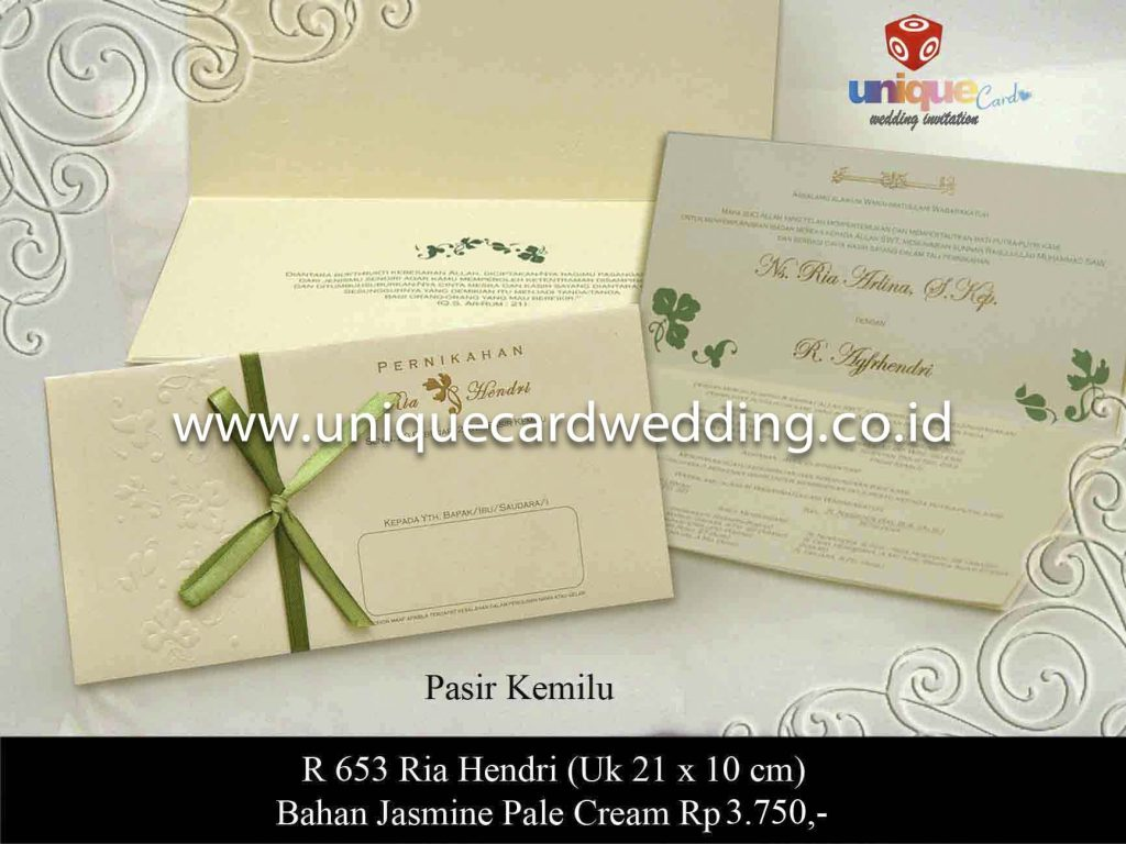 undangan pernikahan#Ria Hendri