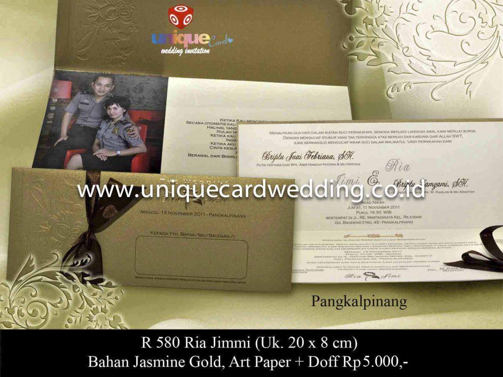 undangan pernikahan#Ria Jimmi