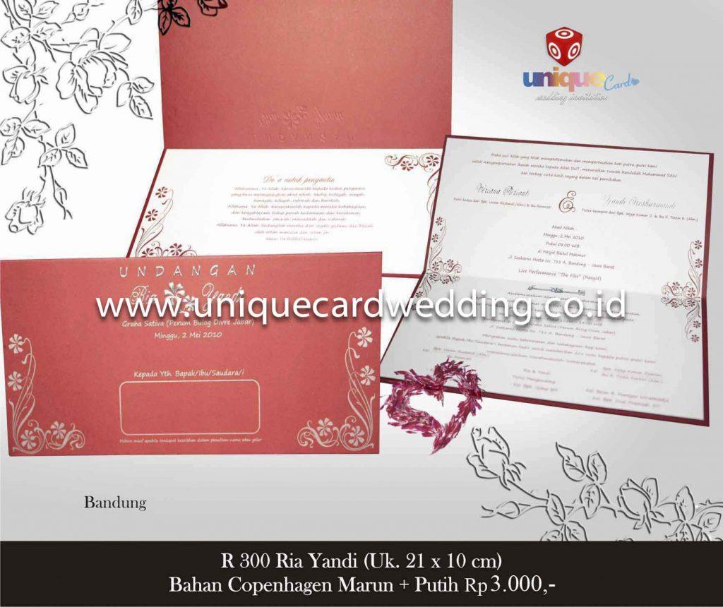 undangan pernikahan#Ria Yandi