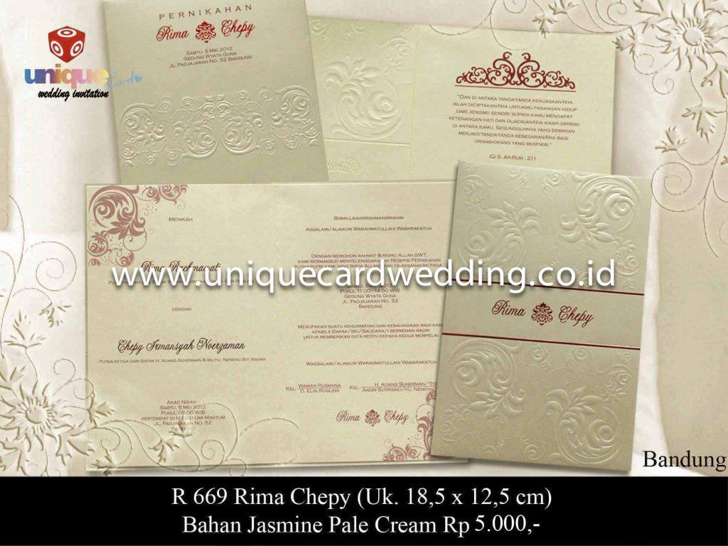 undangan pernikahan#Rima Chepy
