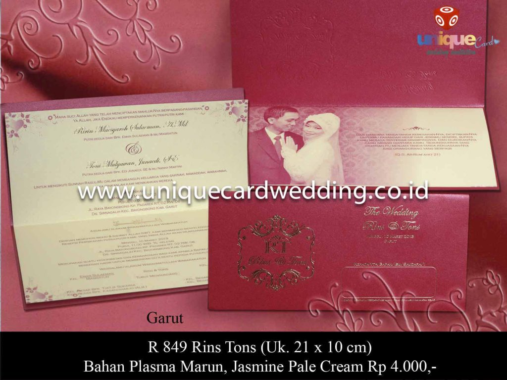 undangan pernikahan#Rins Tons