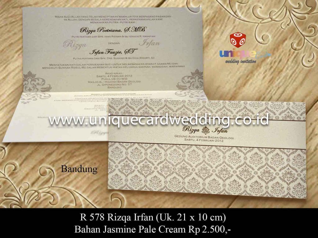 undangan pernikahan#Rizqa Irfan_