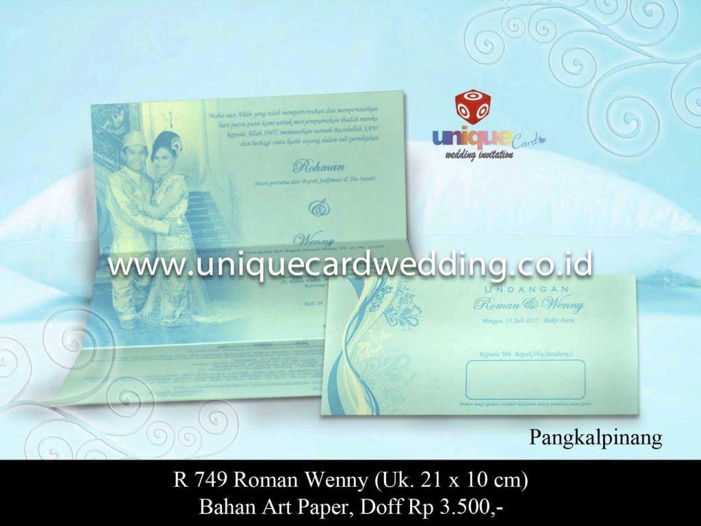 undangan pernikahan#Roman Wenny