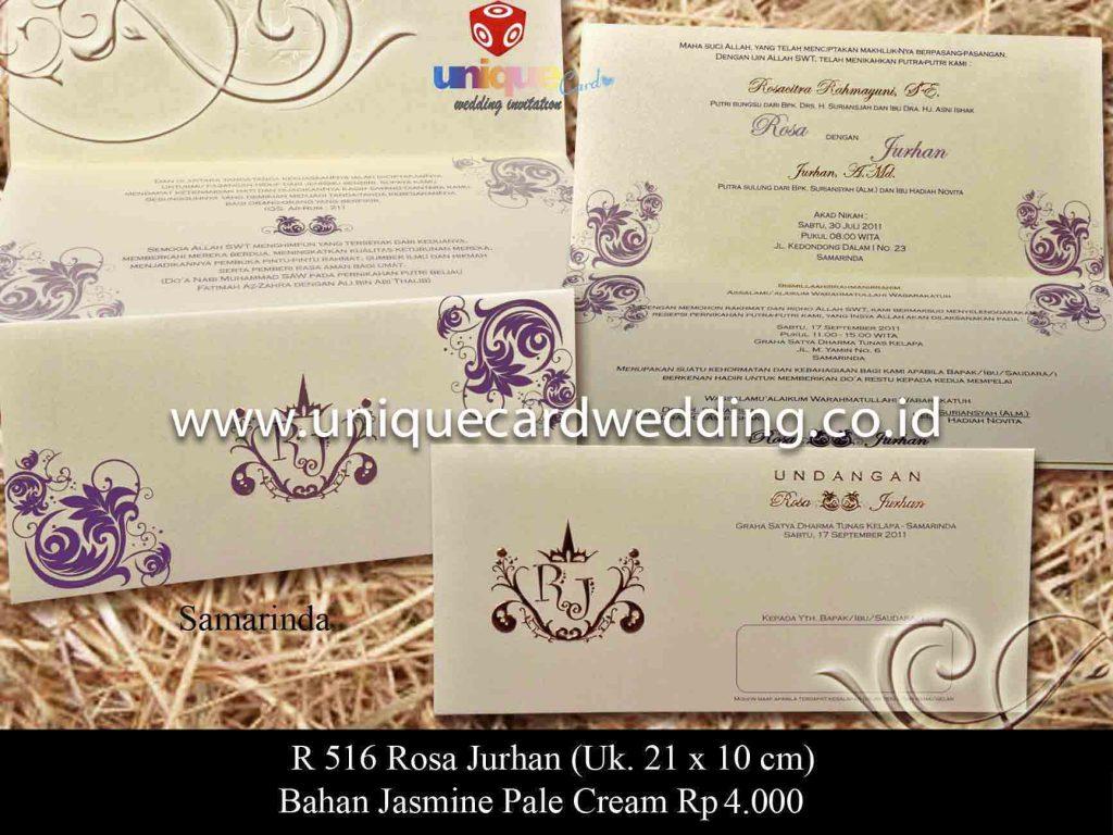 undangan pernikahan#Rosa Jurhan