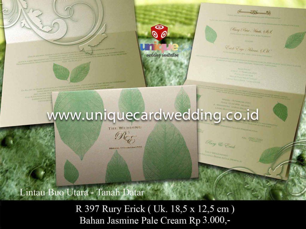 undangan pernikahan#Rury Erick