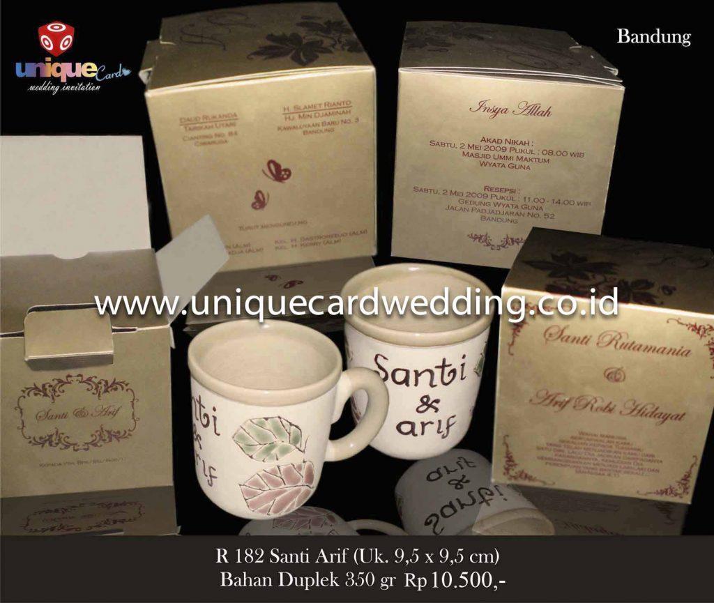 undangan pernikahan#Santi Arif