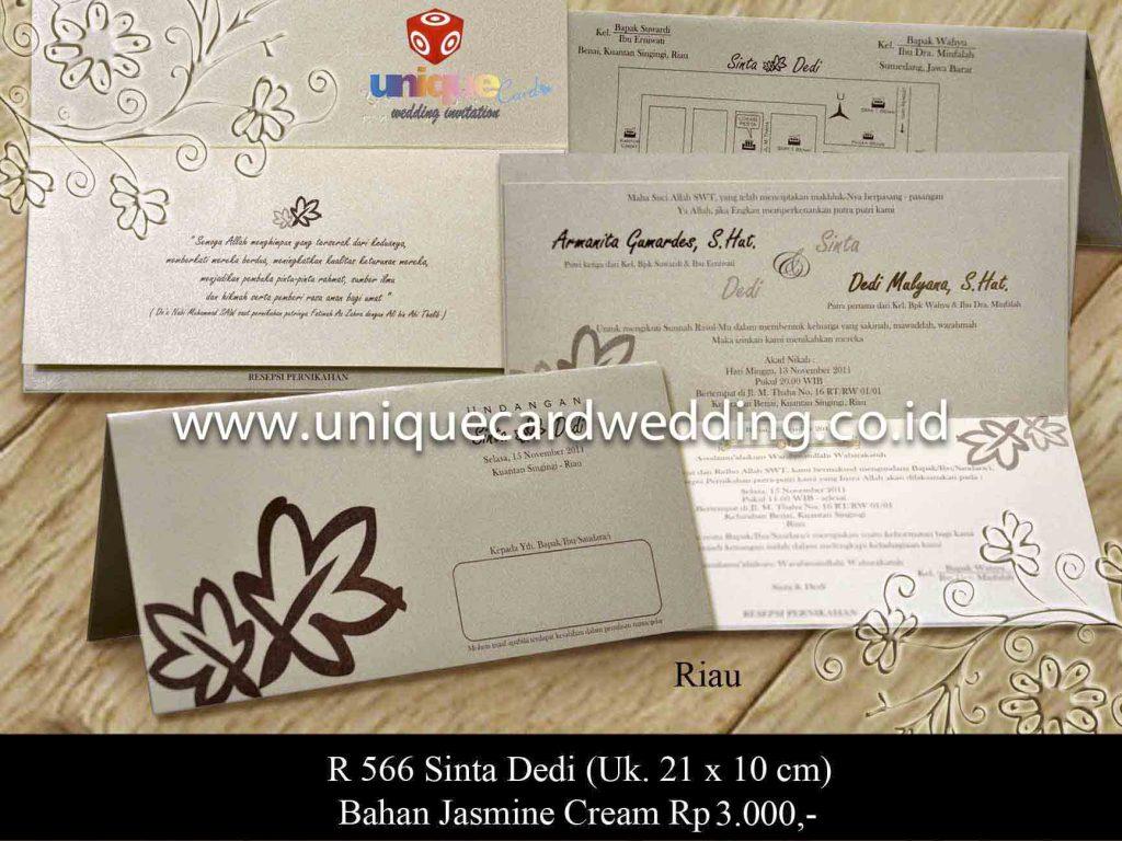 undangan pernikahan#Sinta Dedi