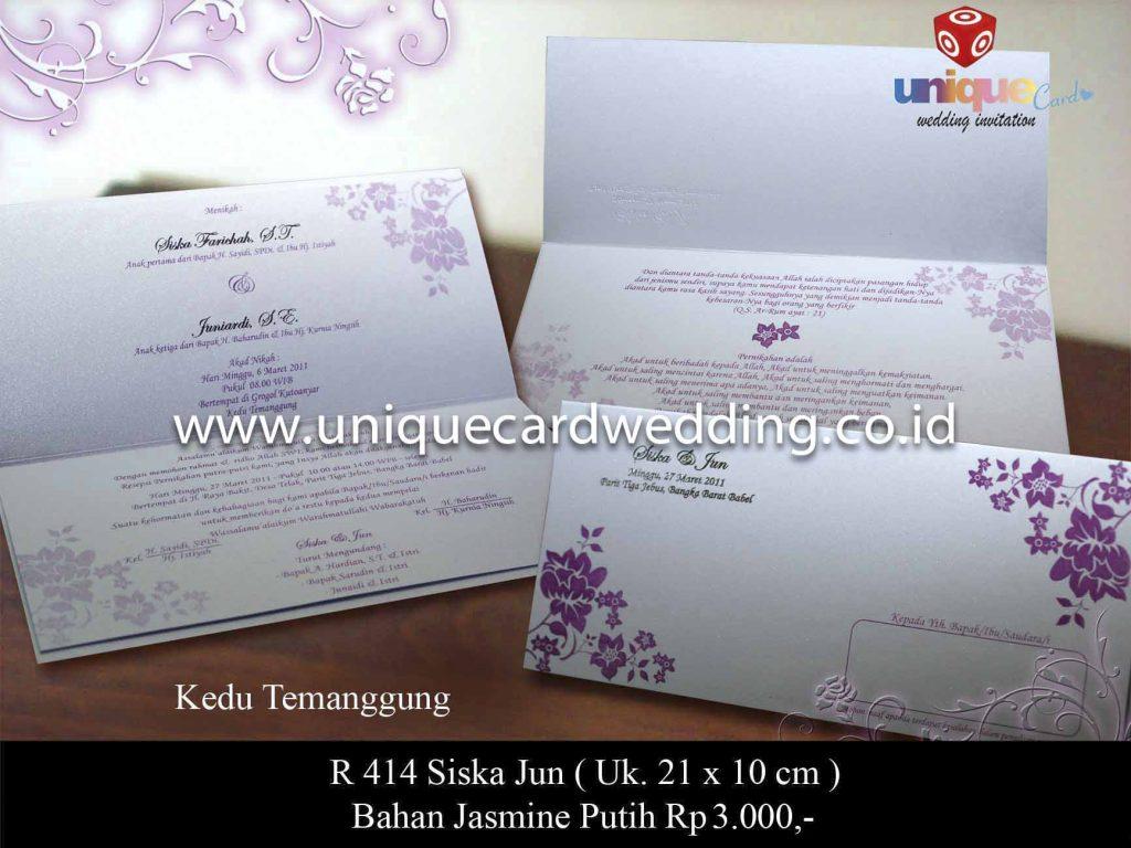undangan pernikahan#Siska Jun