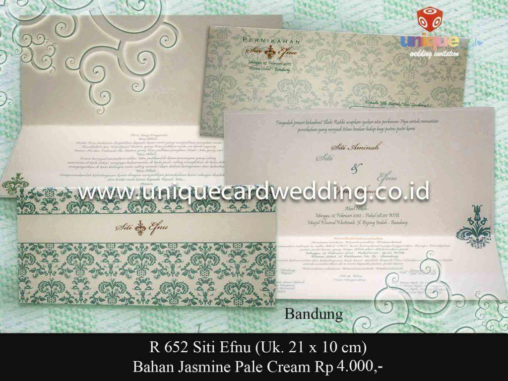 undangan pernikahan#Siti Efnu