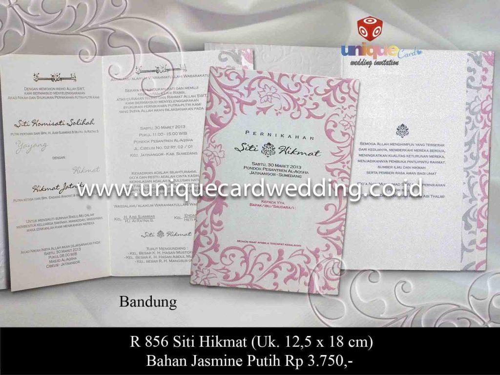 undangan pernikahan#Siti Hikmat