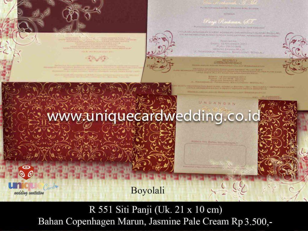 undangan pernikahan#Siti Panji
