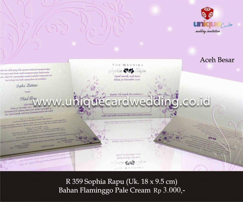 undangan pernikahan#Sophia Rapu