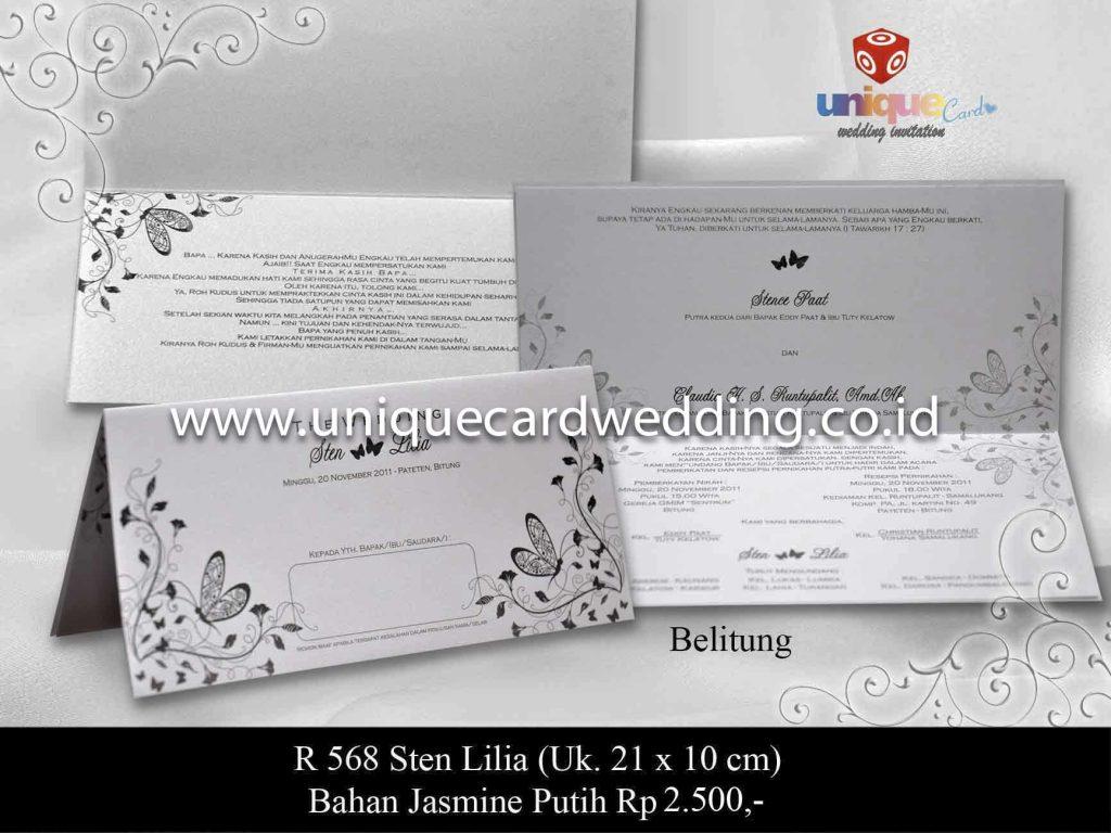 undangan pernikahan#Sten Lilia