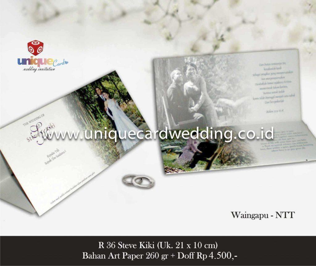 undangan pernikahan#Steve Kiki