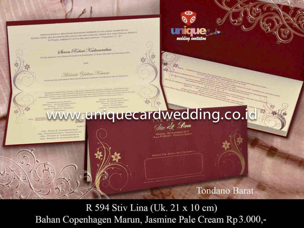 undangan pernikahan#Stiv Lina