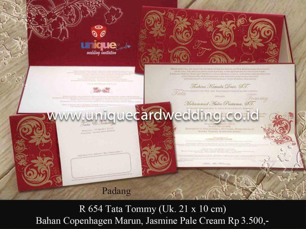 undangan pernikahan#Tata Tomy SC