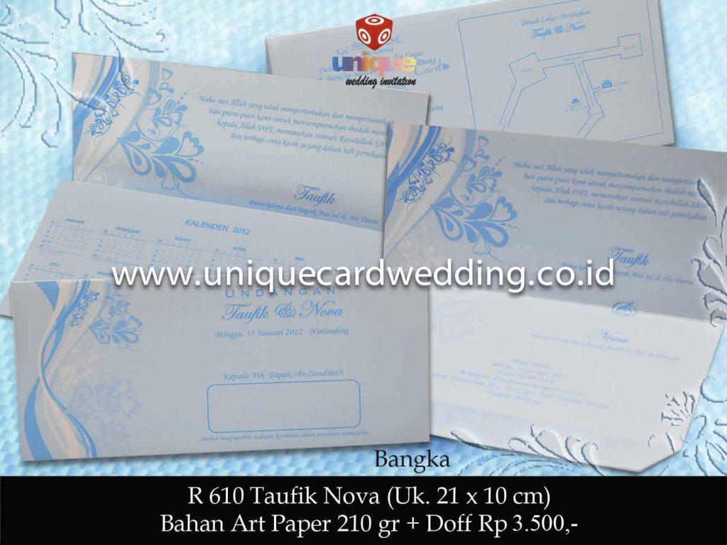 undangan pernikahan#Taufik Nova