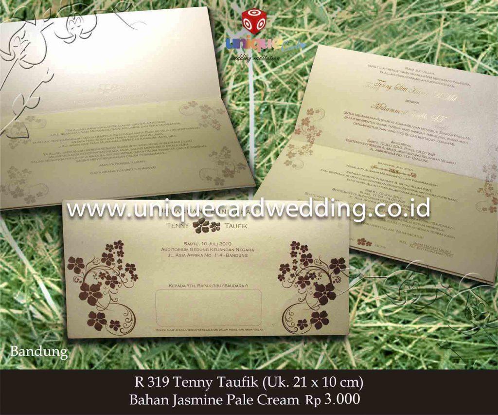undangan pernikahan#Tenny Taufik