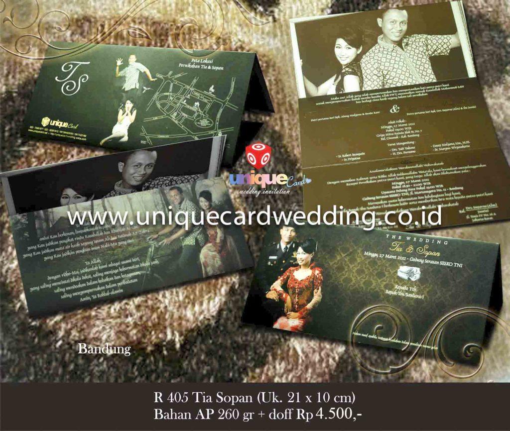 undangan pernikahan#Tia Sopan