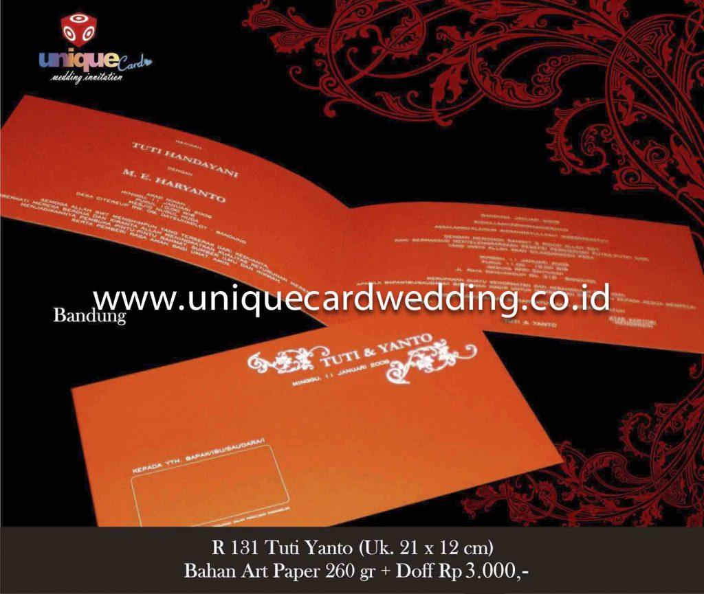 undangan pernikahan#Tuti Yanto