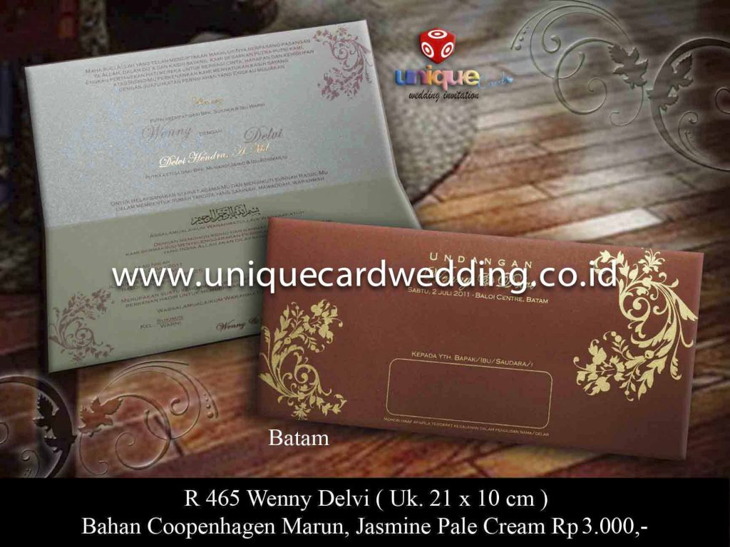 undangan pernikahan#Wenny Delvi