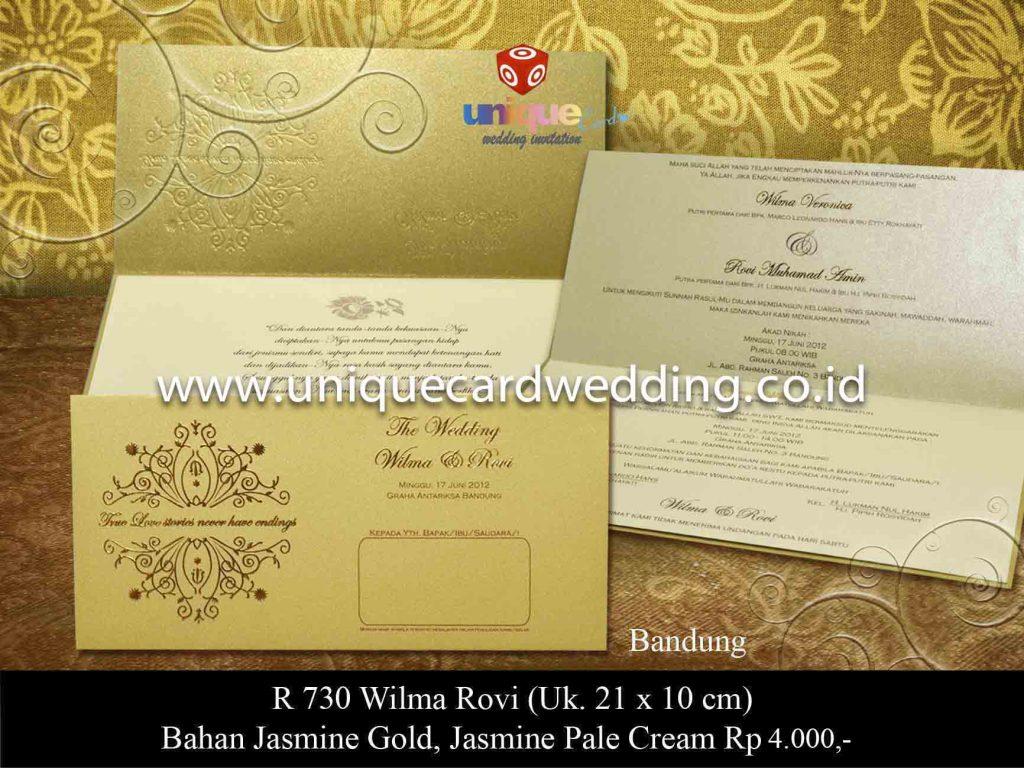 undangan pernikahan#Wilma Rovi