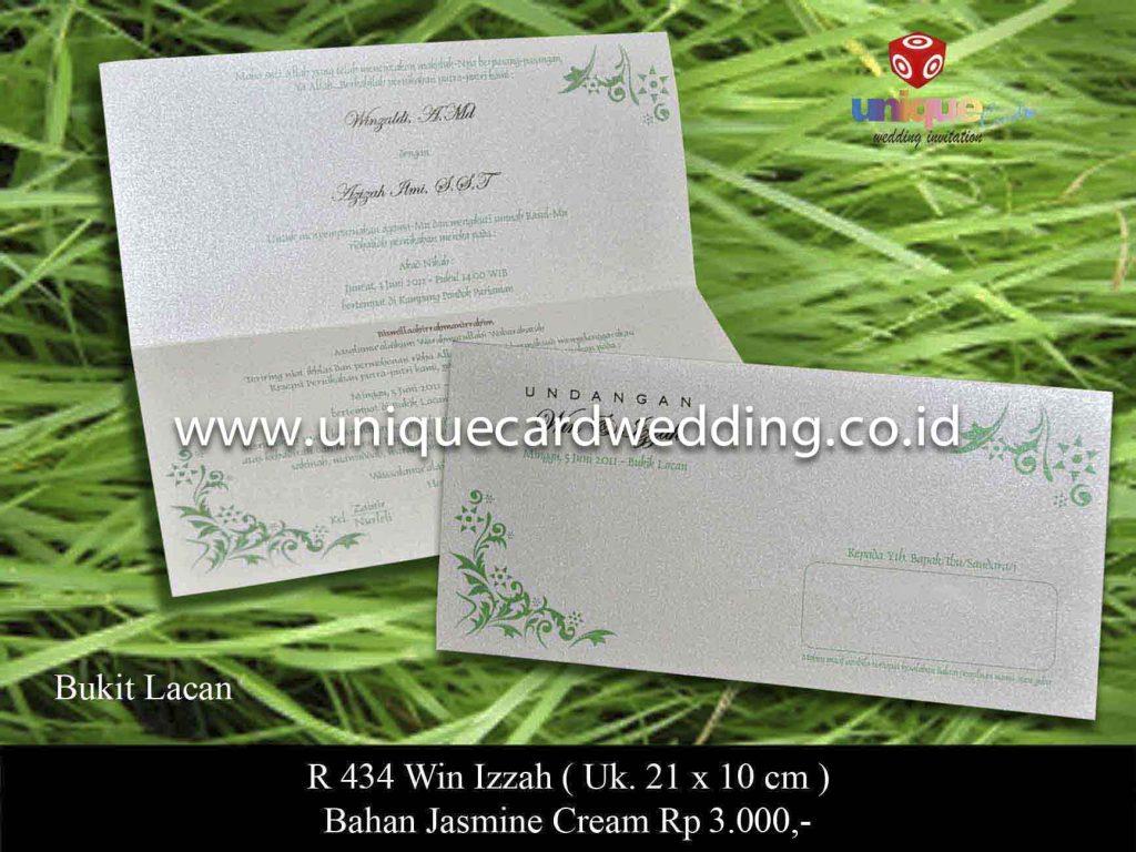 undangan pernikahan#Win Izzah