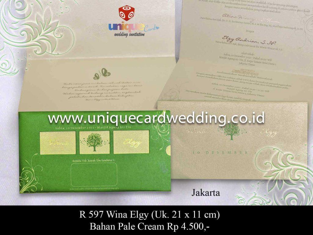 undangan pernikahan#Wina Elgy