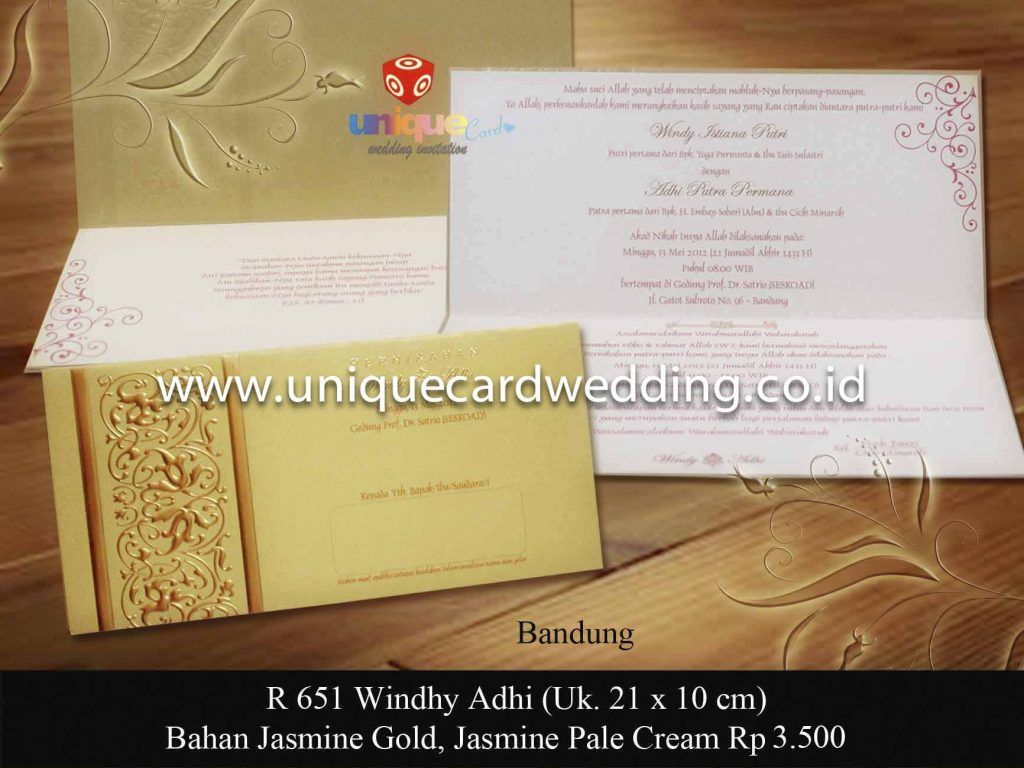 undangan pernikahan#Windy Adhi
