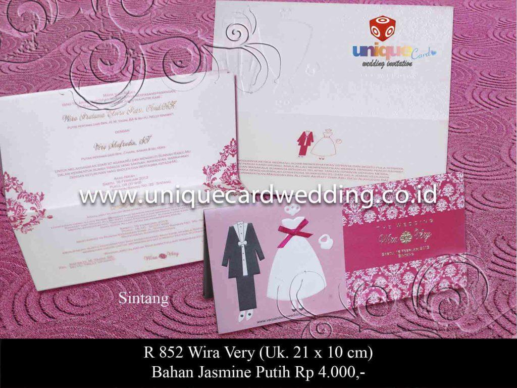 undangan pernikahan#Wira Very