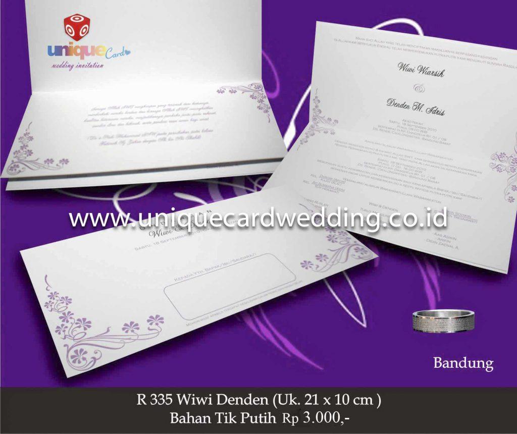 undangan pernikahan#Wiwi Denden